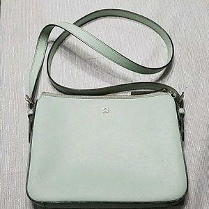 Mint Green Kate Spade crossbody bag